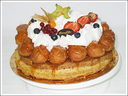 Vous pouvez déguster ce gâteau en toute piété. Comment s'appelle-t-il ?