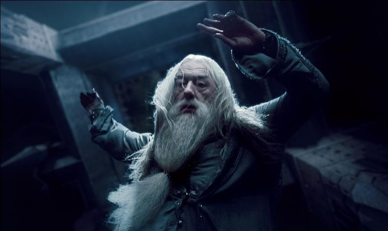 Vers la fin du film  Harry Potter et le Prince de Sang-Mêlé , quel Sortilège Impardonnable Severus Rogue lance-t-il à Albus Dumbledore, lui ôtant alors la vie ?