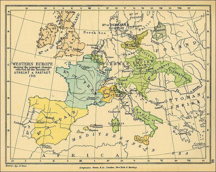 A l'issue de la guerre de Succession d'Espagne (1701-1714), l'Autriche acquiert le territoire de l'actuelle Belgique qu'on appellera