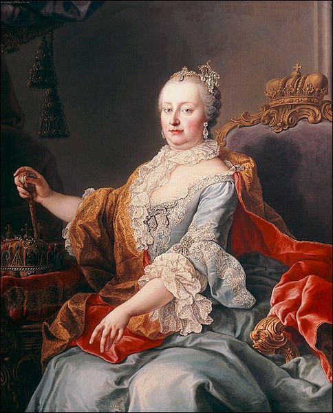 Qui est cette impératrice du Saint-Empire, archiduchesse d'Autriche, de 1740 à 1780 ?