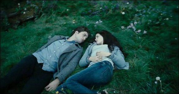 Qu'est-ce que Bella mange à tous ses repas lorsque Edward et elle sont sur l'île d'Esmé ?