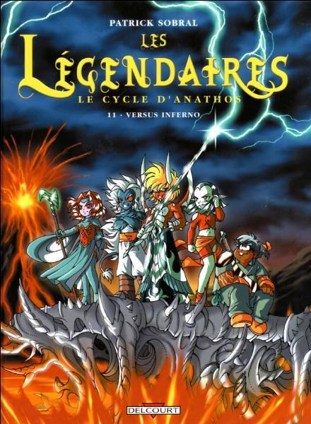 Dans la couverture du tome 11, quel Légendaire n'a pas de  Dark  ?