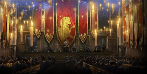 Lors de la première année de Harry Potter à Poudlard, Gryffondor remporte la Coupe des Quatre Maisons de très peu devant Serpentard. Quel est le décompte final ?