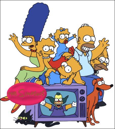 Combien sont-ils en tout chez les Simpson ?