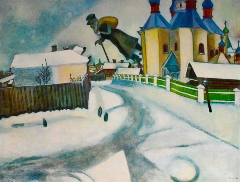 Naturalisé français en 1937, Marc Chagall est né en 1887 en :