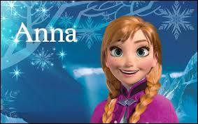 Anna demande à Elsa :