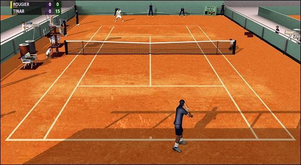 Comment s'appelle l'action, au tennis ou au volley, de faire un service gagnant que l'adversaire ne touche même pas ?