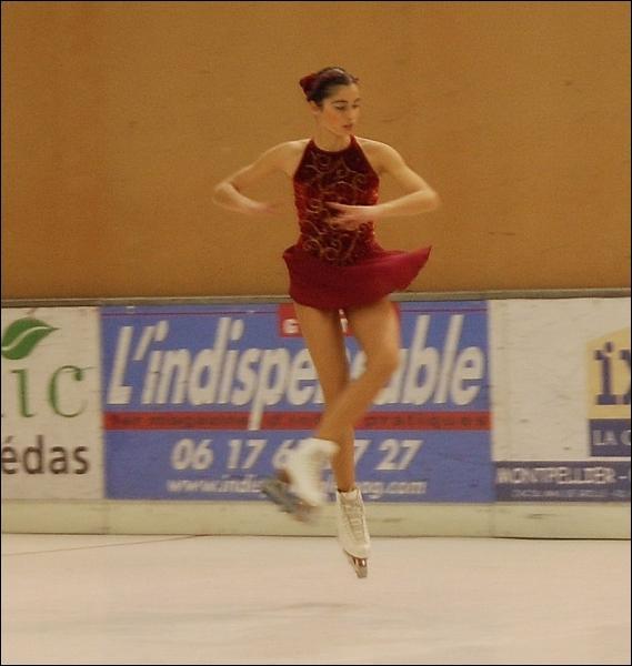 Comment s'appelle, en patinage artistique, un saut partant sur une carre extérieure avant et se terminant sur une carre extérieure arrière après une rotation d'un tour et demi dans l'espace ?