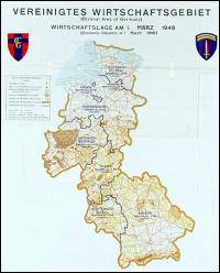 1er janvier 1947 : création d'un regroupement des zones occupées par les Britanniques et les Américains en Allemagne à l'issue de la Seconde Guerre Mondiale. Quel était son nom ?
