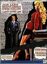 Quel est ce film qui réunit Brigitte Bardot et Jean Gabin ?