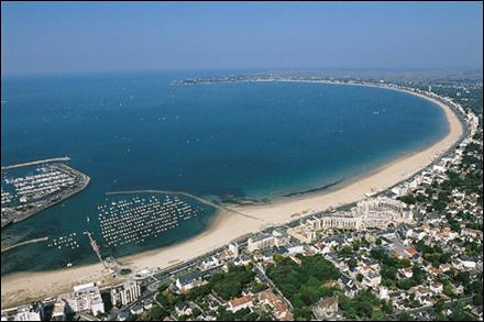La Baule est située sur les côtes d'Armor.