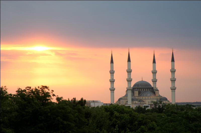 À Achgabat, capitale du Turkménistan, le président a fait construire un complexe olympique pharaonique de 5 milliards de dollars.