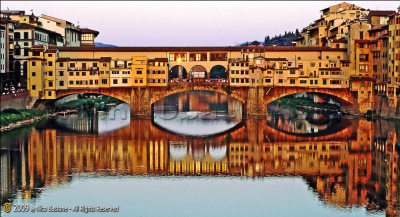Le Ponte Vecchio est situé à Venise.