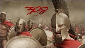 Quelle bataille de l'antiquité est au centre de  300  ?
