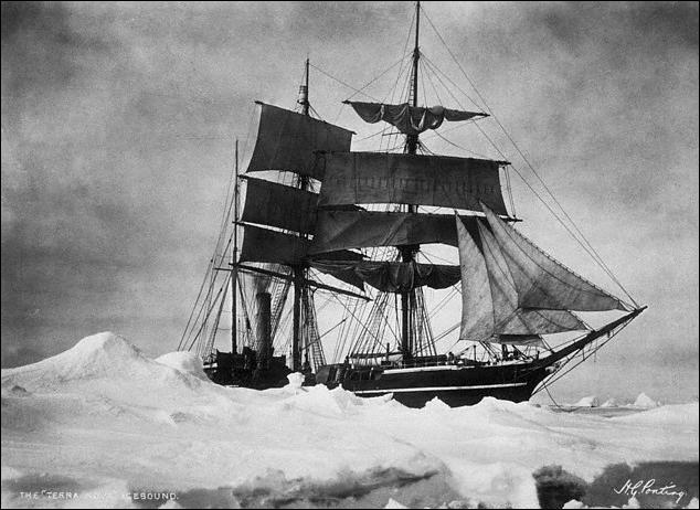 Quelle expédition cherchant à atteindre le pôle Sud, en 1911, avait été devancée par celle de Roald Amundsen ?