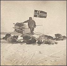 Explorateur, aguerri et méthodique, ce Norvégien atteignit le pôle Sud, le 14 novembre 1911.