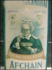Retrouvez le nom de la confiserie grâce à la ville figurant sur l'affiche :