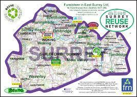 Dans quel pays est la région du Surrey ?