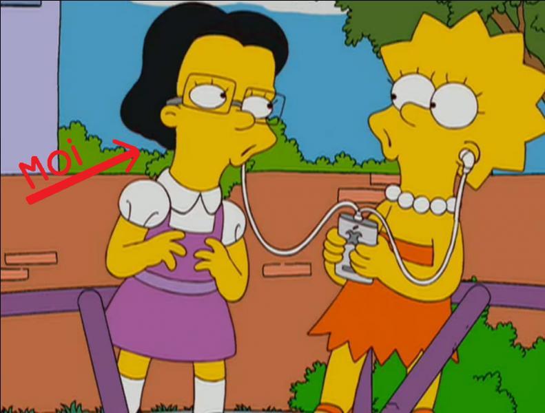 J'ai interprété la voix de Juliette dans l'épisode 9 de la saison 20 des Simpson :  Lisa the Drama Queen  ( Lisa la reine du drame ). Qui suis-je ?