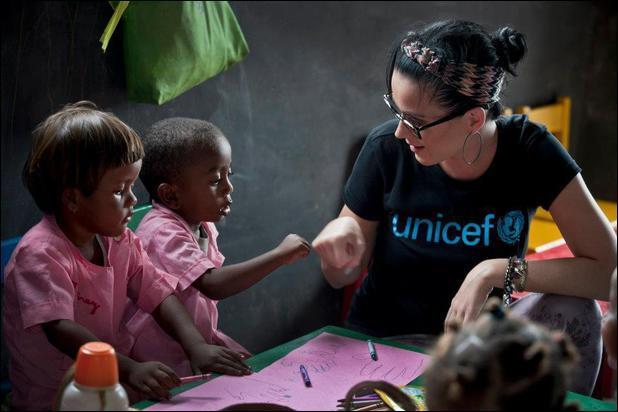 J'ai effectué un voyage à Madagascar en 2013, dans le cadre de l'UNICEF. Et je suis actuellement une de ses ambassadrices. Qui suis-je ?