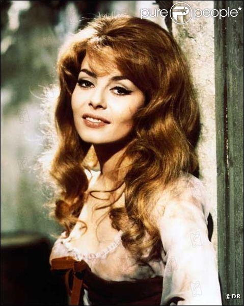 1er janvier 1939 : naissance d'une actrice française à Nice. Qui fut 'la marquise des anges' ?