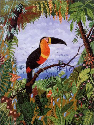 Qui a peint Toucan ?