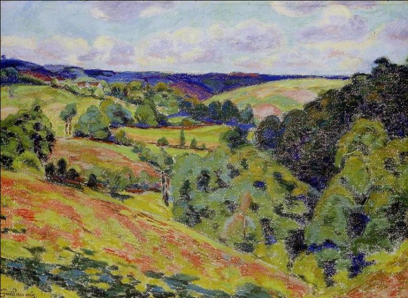 Qui a peint Paysage de la Creuse ?