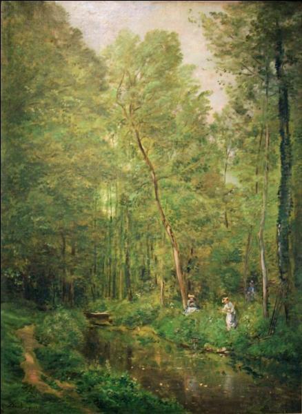 Qui a peint Sous-bois à Valmondois ?