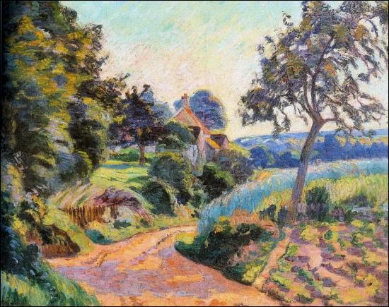 Qui a peint Paysage de l'Ile de France ?