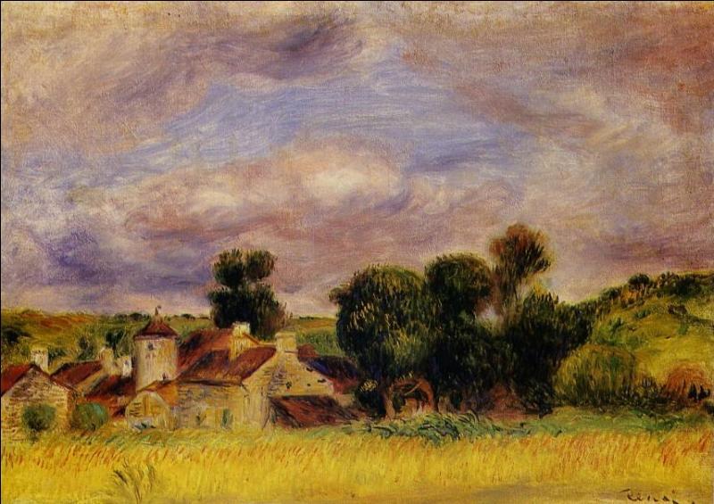 Qui a peint Paysage de Bretagne ?