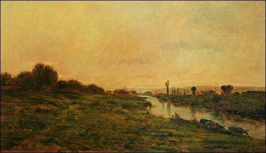 Qui a peint Bras de Seine Pont de l'Arche ?