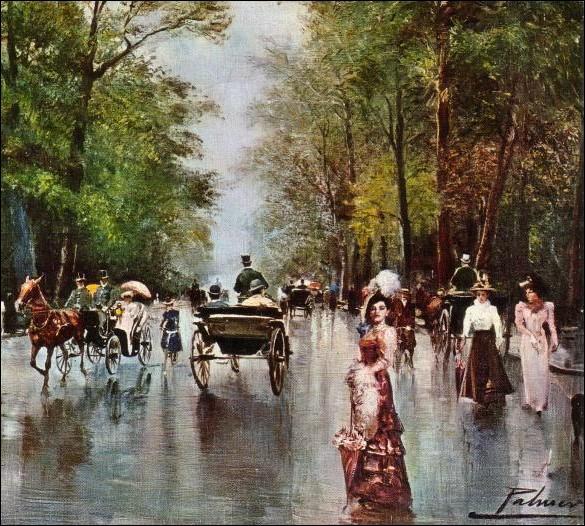 Rencontrée au Bois de Boulogne...