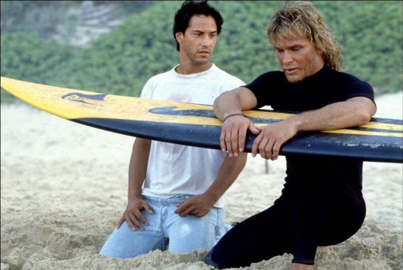 Keanu Reeves donne la réplique à Patrick Swayze dans ce film de 1991 :
