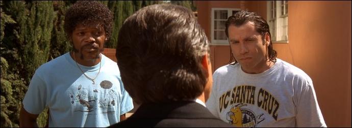 Un film de Tarantino avec John Travolta, Samuel L. Jackson :