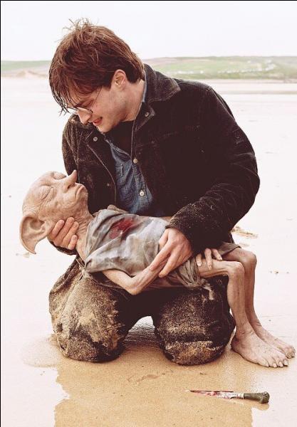 Qui tue Dobby, l'elfe de maison devenu libre ?