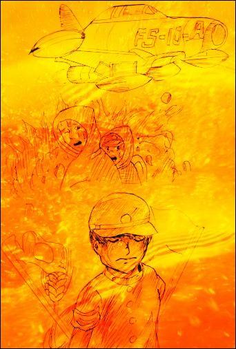 Pour terminer cette expédition, je vous présente un célèbre manga très touchant de Keiji Nakazawa :