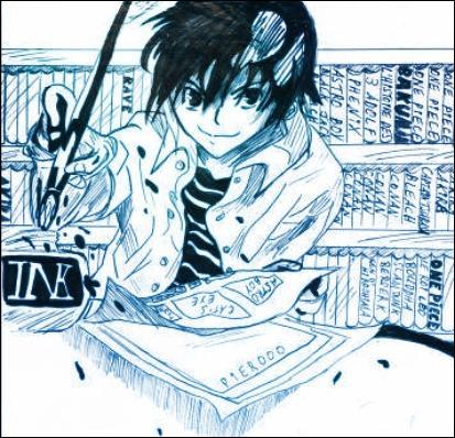 Cette fois-ci, un manga unique en son genre issu des mêmes auteurs que ceux de la question 1, Takeshi Obata et Tsugumi Ohba :
