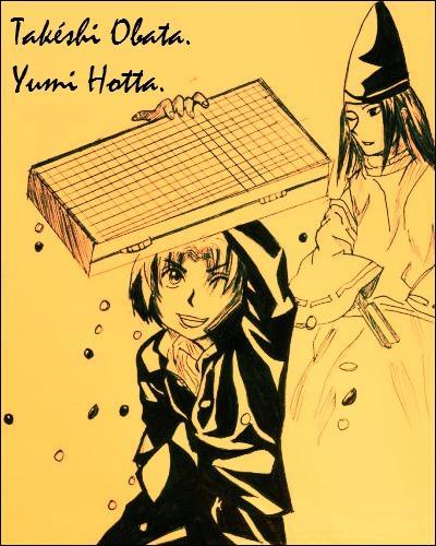 Autre manga dessiné par Takeshi Obata mais cette fois scénarisé par Yumi Hotta, il se porte sur le jeu de go :
