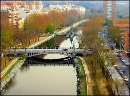 Madrid est traversée par :