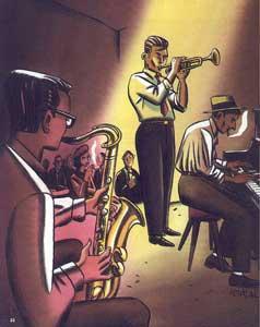 Musiciens de jazz - 1