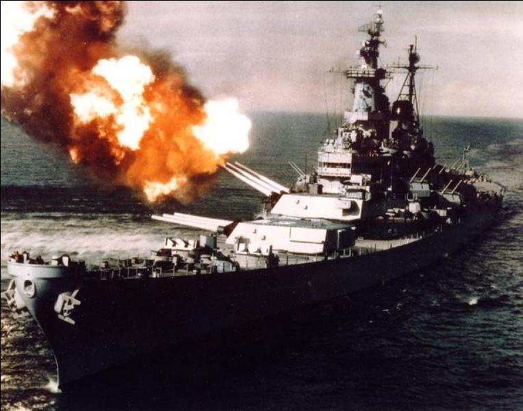 USA : Même s'il a participé activement à trois guerres, il est plus connu pour la dernière action de la 2e Guerre mondiale, la signature de la capitulation japonaise. Quel est ce navire ?