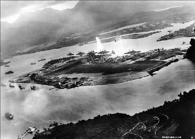 USA : A vous de trouver un des trois bâtiments de guerre à ne pas avoir été sauvé après l'attaque japonaise de Pearl Harbor, le 07 décembre 1941.