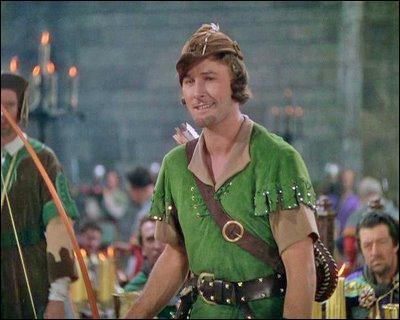 Le mythe de Robin des Bois s'est prolongé par les adaptations cinématographiques. En 1938, quel acteur endosse le costume du célèbre héros dans  Les Aventures de Robin des Bois  ?