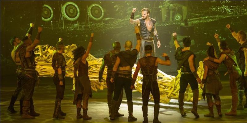 Enfin, en 2013, une comédie musicale s'intitulant  Robin des Bois  est en représentation au Palais des Congrès, à Paris. Quelle a été la date de la première représentation ?