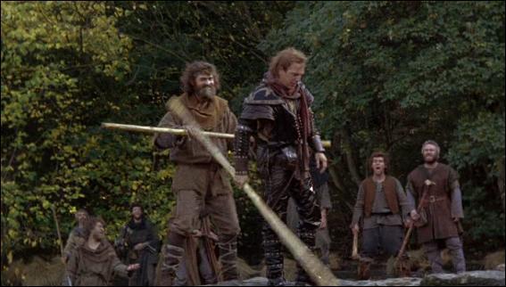 Un autre compagnon très célèbre de Robin des Bois se prénomme Petit Jean. Avant de sympathiser avec Robin des Bois, Petit Jean était le chef d'une bande de  rebelles . Quel duel a-t-il imposé à Robin des Bois ?