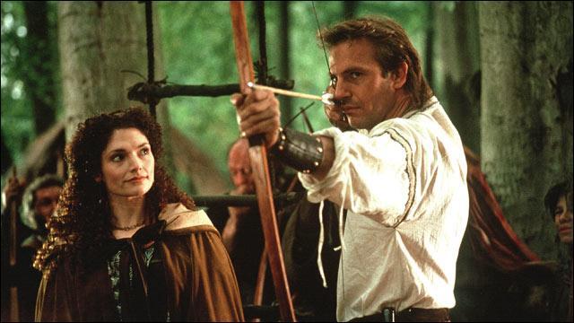 Comment se prénomme la fiancée de Robin des Bois, que ce dernier aime en secret et fait absolument tout pour la protéger de ses adversaires, au temps du Moyen-Âge ?