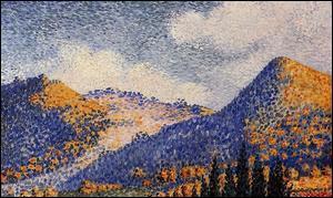 Qui a peint Les petites montagnes ?