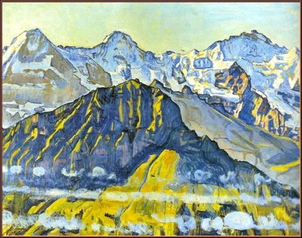 Qui a peint Massif de la Jungfrau ?