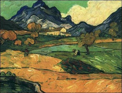 Qui a peint Le Mont Gaussier ?