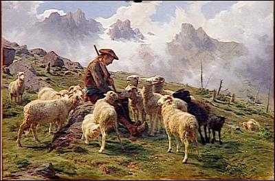 Qui a peint Berger des Pyrénées ?